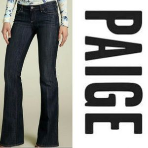 Paige Canyon Boot Dark Wash Jeans, 29